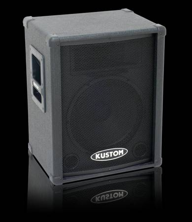 Kustom PA KPC12P 12 Powered PA Speaker - $90 (Ruston)