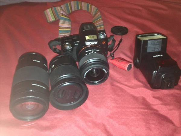 Sony A55 DSLR Camera -   x0024 700  West Monroe