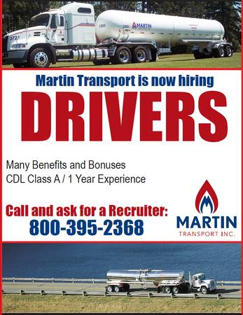 Tanker Drivers Wanted REGIONAL LOCAL AVRG Pay $53K (Bossier City, LA)