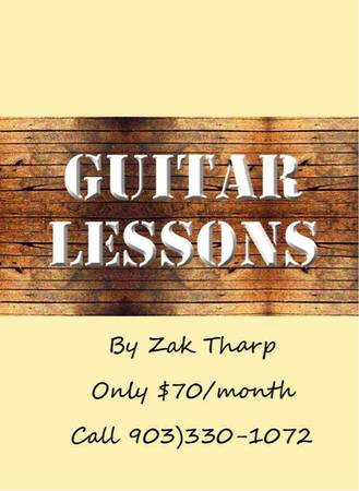 Guitar Lessons  Nacogdoches  TX
