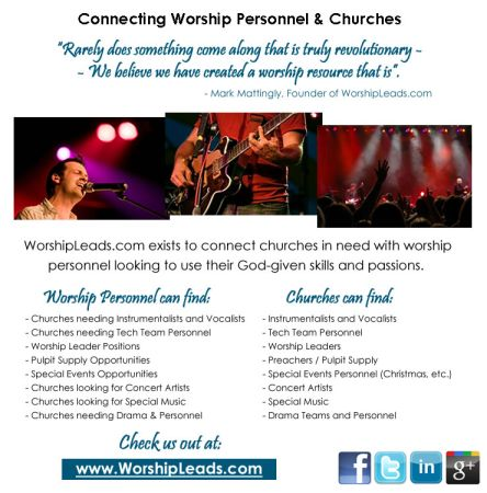 Looking for Christian Vocalists and Instrumentalists     Deep East Texas and beyond