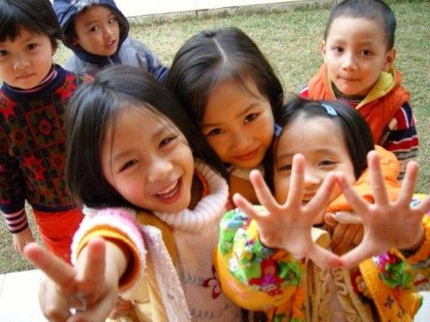 Volunteer work with autistic children in Vietnam  Hanoi