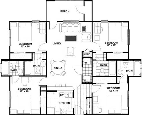 -  479   4br - 1320ft sup2  -    479 apartment 4 4 ONE ROOM  college station