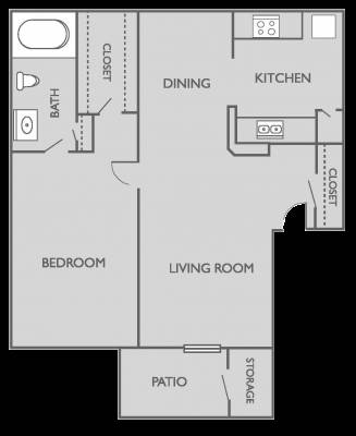 -  600   1br - Subleasing my 1 bedroom 1 bath apartment at WoodTrail Apartments  Bryan