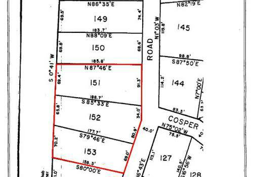 x00245000 Land for Sale in Chireno ISD Cash only, or will finance with home (Chireno)