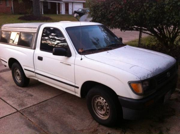 Toyota Tacoma work truck with camper for trade    East Texas