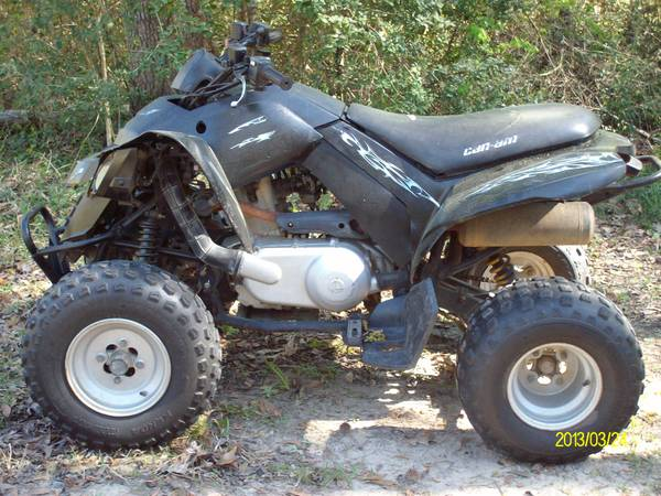 wtt 07 can am 4 wheeler  wildwood  tx