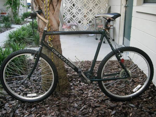 Cannondale m400 - dark green - nice condition -   x0024 200  Wells