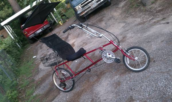 Sun EZ-1 recumbent  road bike - $400 (huntington)