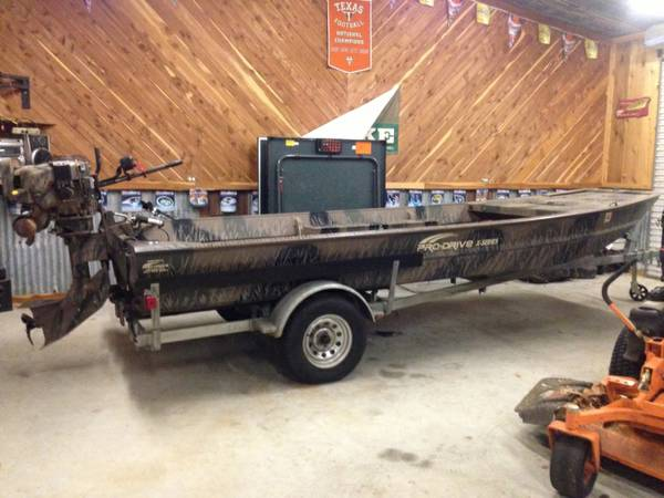 2012 1854 Pro-Drive boat with 36 hp engine - x002414500 (Nacogdoches)