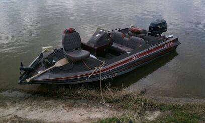 92 King Fisher 17 Bass Boat w90hp Evinrude - $3000 (Trinity Tx)
