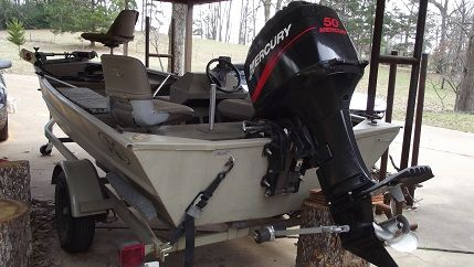 2001 Xpress Bass Boat, Motor and Trailer - $5300 (Grapeland, TX)
