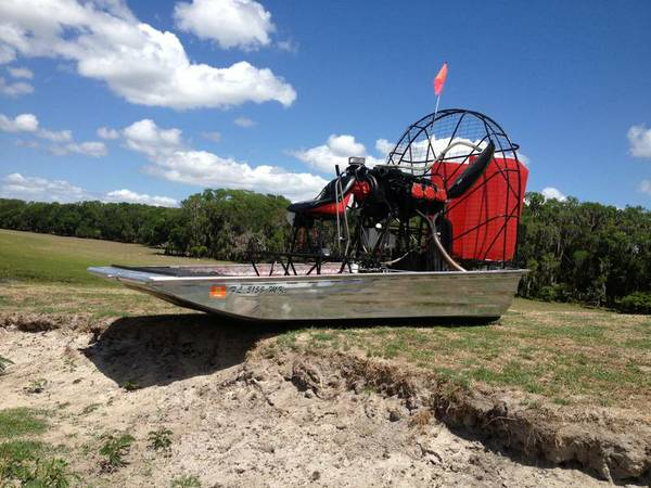 AIRBOAT (reduced) - $14000 (NEWKIRK, OK)