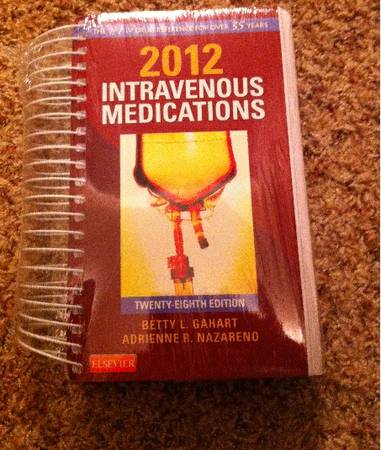 2012 Intravenous Medications -   x0024 15  Lufkin