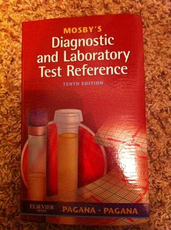 Mosby s Diagnostic and Laboratory Test Reference -   x0024 10  Lufkin