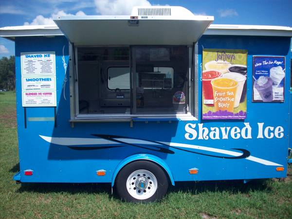 Sno-Pro Shaved Ice Concession Trailer - $11900 (Nacogdoches)