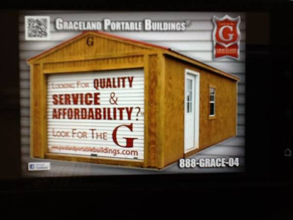 HOLIDAY SPECIALS GRACELAND PORTABLE BUILDINGS (31 EAST TYLER TEXAS )