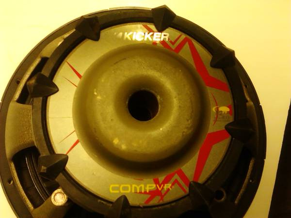 12in kicker comp cvr - $50 (lake livingston onalaska)