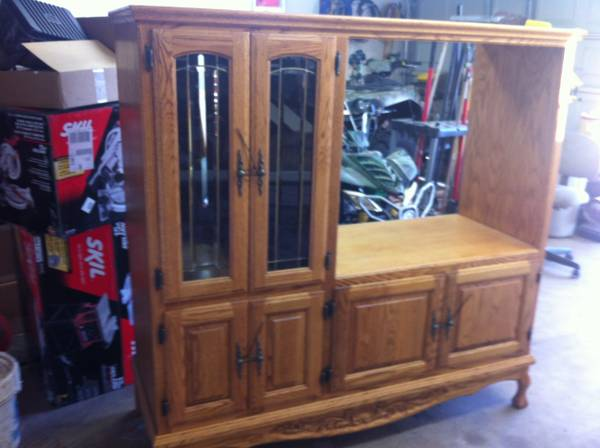 Oak Express Entertainment Center - $300 (Palestine)
