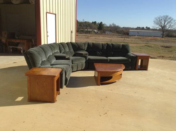 Sofa - 3 pc sectional w tables - x00241200 (Jacksonville)