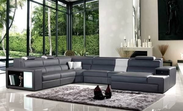 Contemporary Sectional - $3200