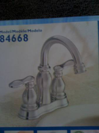 2 Moen Bathroom Faucets - New in Box - $75 (Lindale)