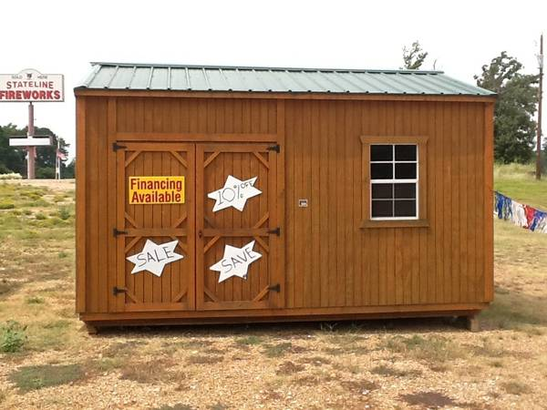 SALE SALE GRACELAND PORTABLE BUILDINGS (8111 SH EAST 31 TYLER TEXAS 75705)