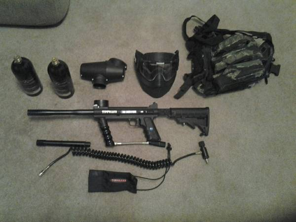 Tippmann 98 Custom ACT  New  Tactical with mods and gear  -  400  Grand Prairie TX