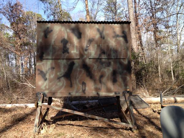 Two man deer stand -   x0024 400  Longview