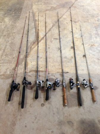 Fishing Rods and Reels - $100 (Longview)