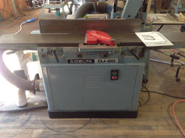 Delta Jointer 8 inch DJ-20 American Made - $1175 (Lufkin)