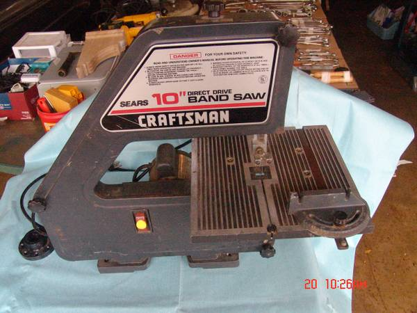 Craftsman 10  Band Saw -   x0024 45