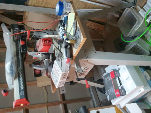 RIGID radial arm saw---never used - $400 (brookeland )