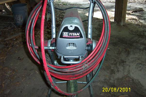 Titan airless paint sprayer | eSpotted