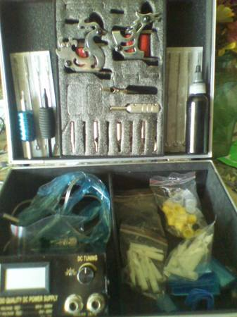 Tattoo kit - $40 (Crowley TX)