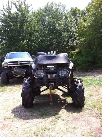 New Ride for MUD NATS  06 can am  6  lift on 31 s   Lots of extras   -   x0024 7000  Diana TX