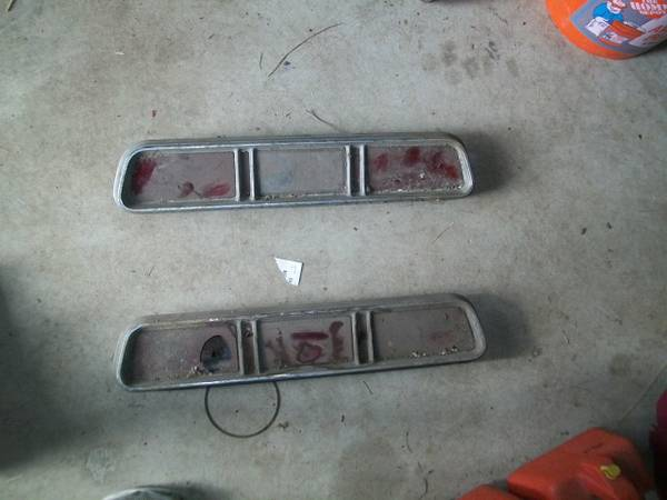 1967 Chevy Impala Tail Lights -   x0024 50  Groveton Lufkin
