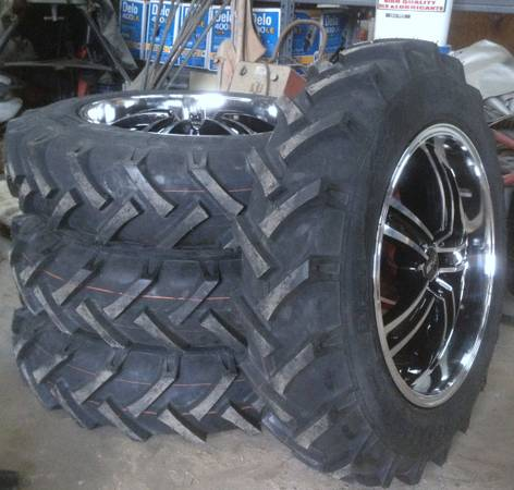 7.50-20 BKT AS-504 Tractor 4 Tires 35x8r20 mud truck UTV RZR - $500 (Livingston, TX)