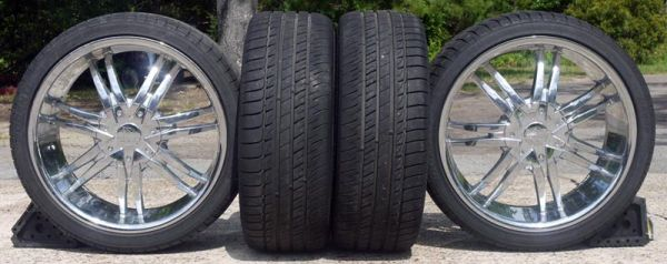 20 Wheels Tires for Chevy - $950 (Hudson)