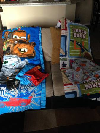 Toddler bedding  mcqueen sports theme  -   x0024 35  North dallas