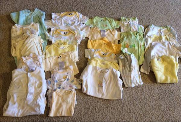 Lot of baby boy girl clothes -   x0024 15  Lewisville