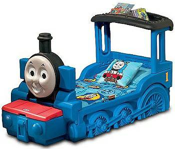 Thomas the train toddler bed - $100 (Lufkin)