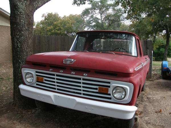 1963 Ford Truck Unibody Shortbed - $2500 (Athens, Tx)