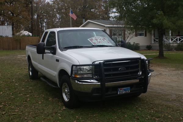 2003 F250 Supercab Long-bed Pickup - $11500 (Lufkin, Texas)
