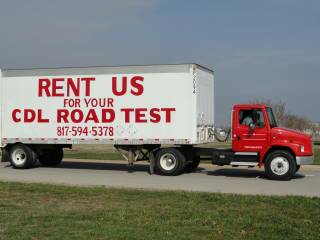 CDL TRUCK RENTAL AND TRAINING FOR TEXAS CDL LICENSE TEST (TEXAS)