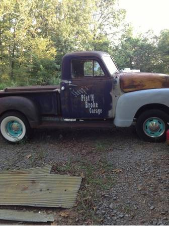 51 Chevy rat rod  - $4000