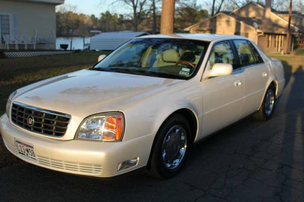 Fully Loaded 2001 Cadillac DeVille - $7500 (Lake Murvaul, Carthage, TX)
