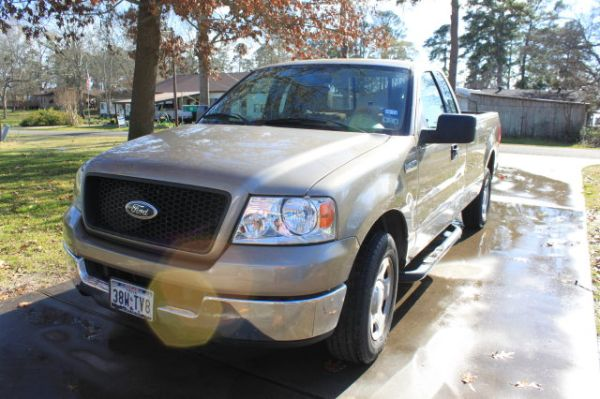 2004 Ford F150 XLT-LOW MILEAGE - $7600 (Lake Murvaul - Carthage)