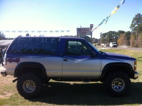 1993 CHEVY BLAZER Lifted 4X4 - $2795 (TrinityHouston )