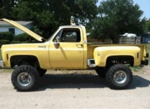 1977 Chevy PU 4x4 Stepside - $5000 (DFW)